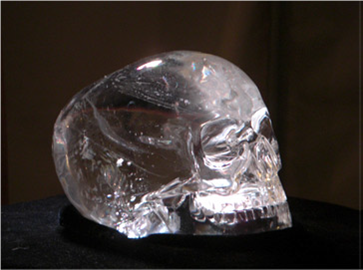 Michell-Hedges Crystal Skull